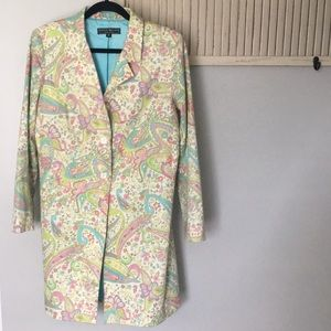 Vintage Harris Wallace New York Size 10 trench